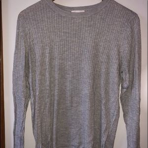 H&M Gray Long Sleeve Shirt